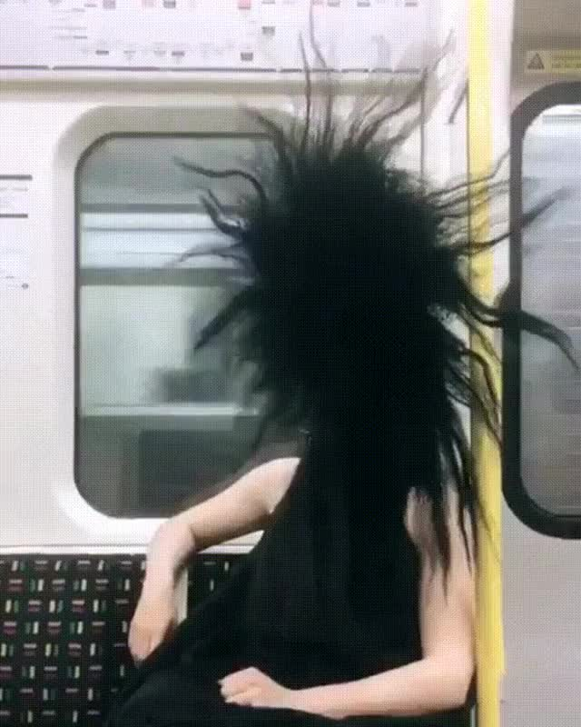 Watch subway rider GIF by Matt Harvath (@kinda_crazay) on Gfycat. Discover more related GIFs on Gfycat