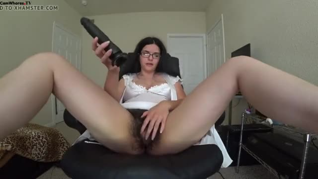 Hairy Pussy Being Played With