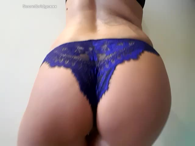 And of course, part 3/3 had to feature the back of these panties and...well, my pussy and ass 🍑 💙
