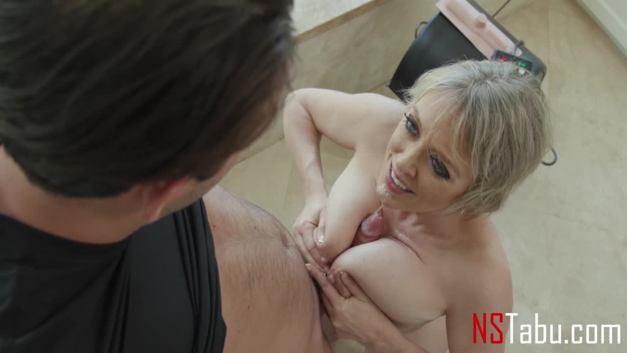 Do You Like Mommy's Tits Wrapped Around Your Dick?