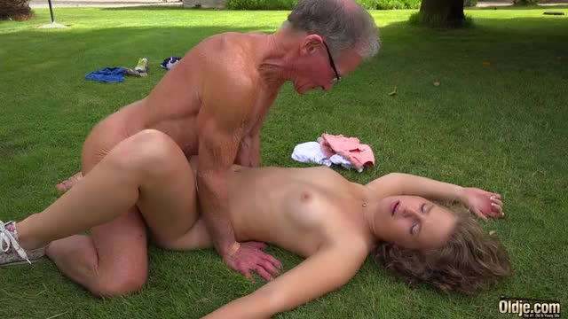 sex on the lawn