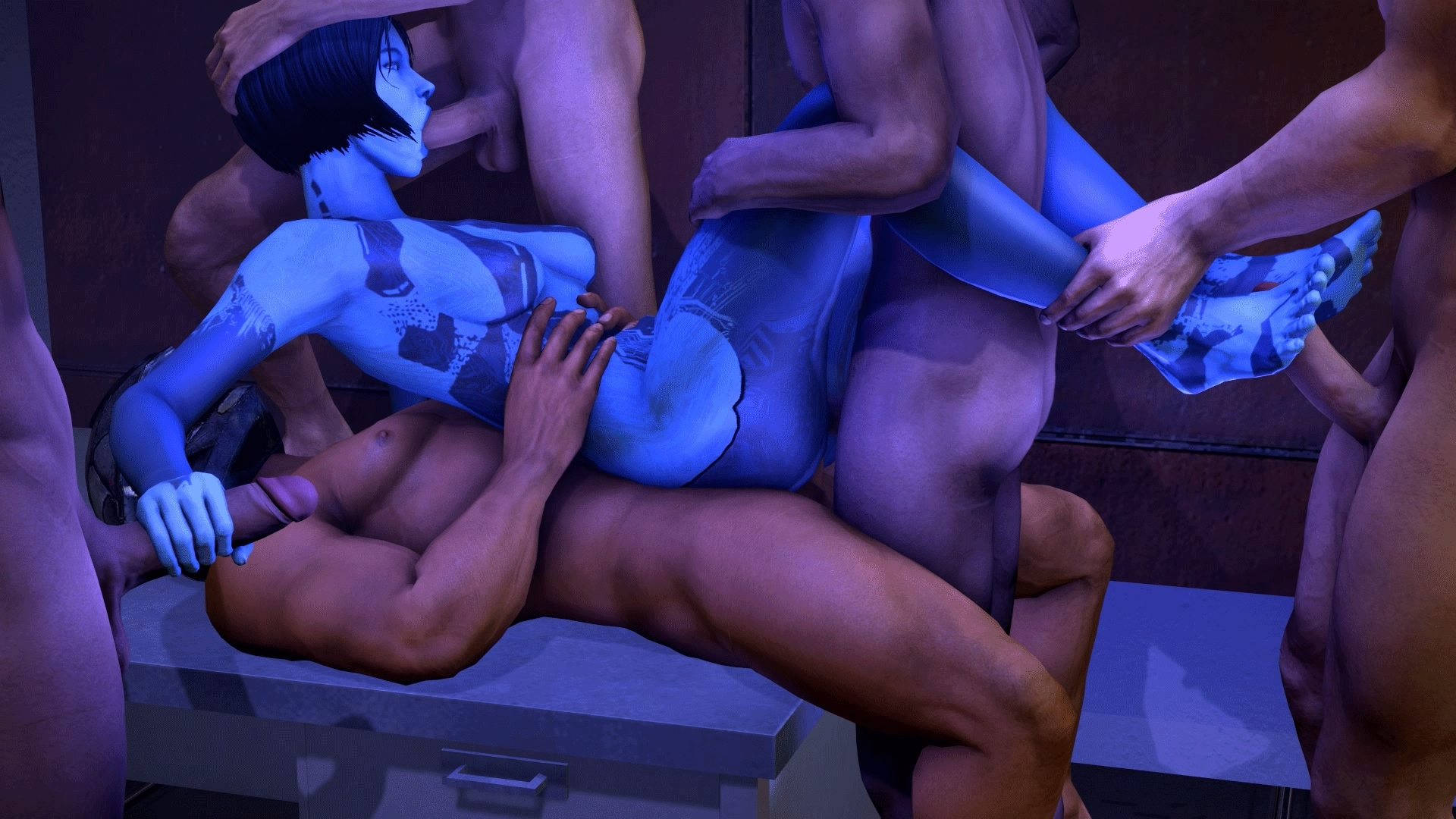 Halo animated xxx porn erotica videos