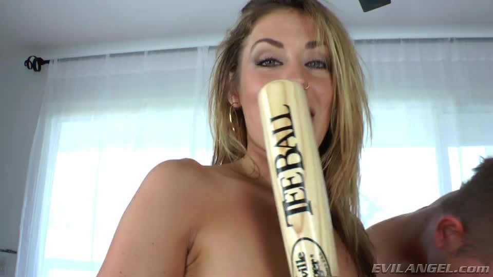 Do You Think I Can Get It In There? (Sheena Shaw And Her Baseball Bat)