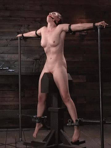 riding on the wooden horse - bdsm therapy