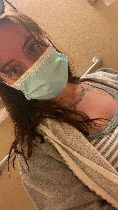 Being naughty at the doctors office