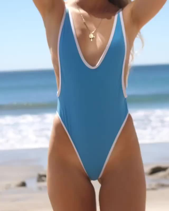 Watch Babe in @chooksla 💓 Shore Blue Retro 1p Shop: @boutinela #boutinelababe @cassiebrown GIF by @luigiperry27 on Gfycat. Discover more Chooks L.A. Swimwear, boutinelababe GIFs on Gfycat