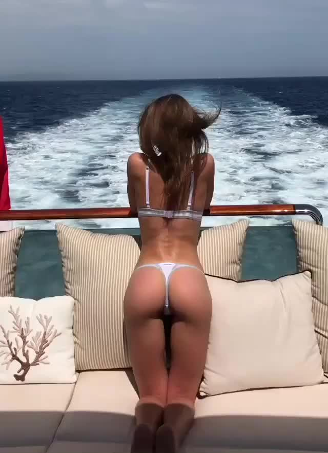 Watch Galina Dubenenko Thong on Yacht GIF by @grateful451 on Gfycat. Discover more bikinimodel, galinadubenenko, sexyceleb, thong GIFs on Gfycat