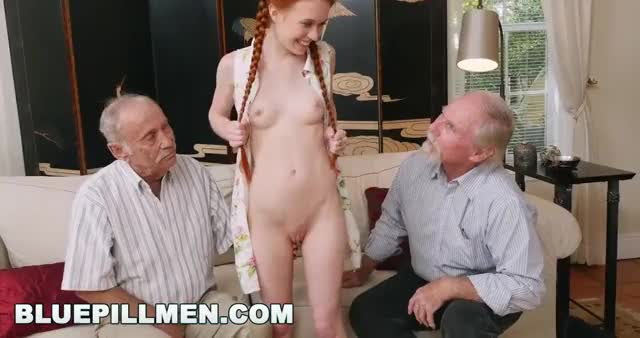 grandpa Copulates Cute Little Cocksucker