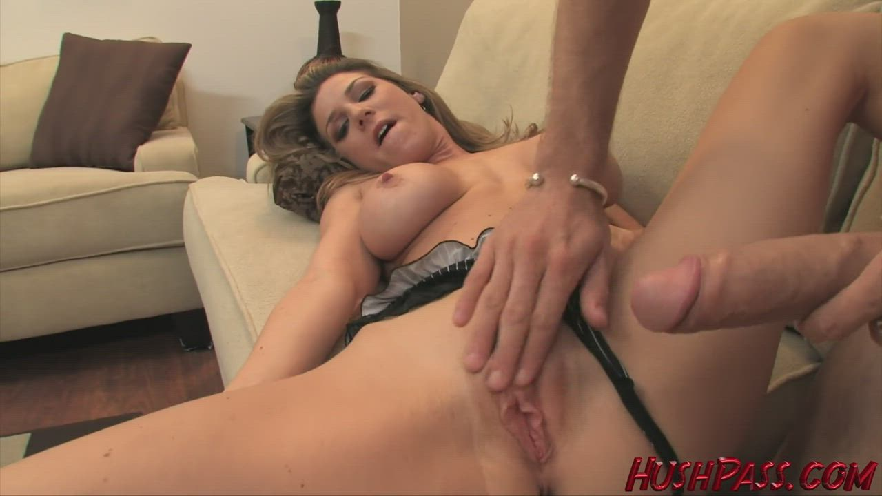 Kayla Paige takes a big one