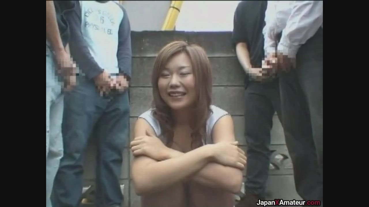 Japanese Girl Getting Bukkaked In A Public Parking Lot Before Walking In A Busy Plaza With Cum All Over Her Face